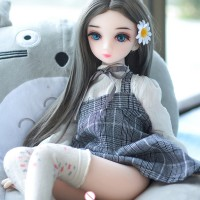 65cm Anime Silicone Love Doll For Male Silicone Mini Breast Sex Doll Full Size Realistic Breast Ass Real Touch Feeling Adult Toys